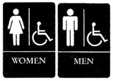 Handicap and ADA approved signs and accessories
