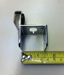 Include a ruler or tape measure when you photograph the part